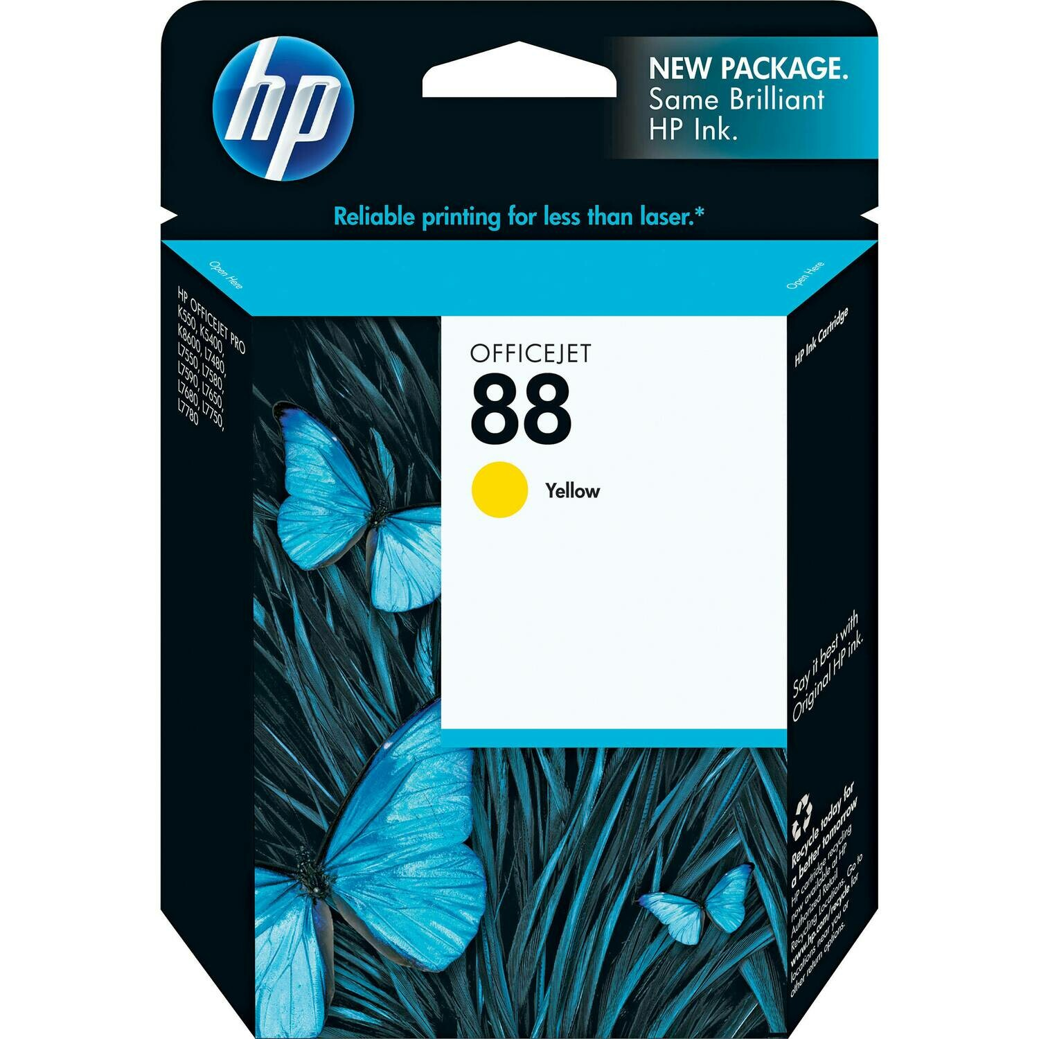 HP 88 YELLOW-PRINTS UPTO 860 PAGES