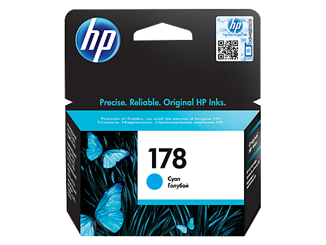 hp 178 CYAN-PRINTS UPTO 300 PAGES