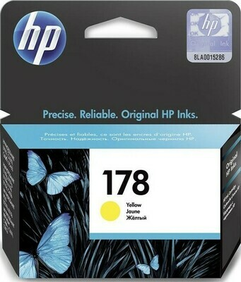 HP 178 YELLOW-PRINTS UPTO 300 PAGES