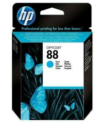 HP 88 CYAN-PRINTS UPTO 860 PAGES