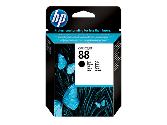 HP 88 BLACK-PRINTS UPTO 850 PAGES