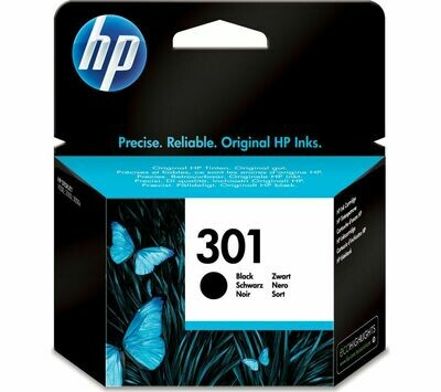 HP 301 BLACK-PRINTS UPTO 190 PAGES