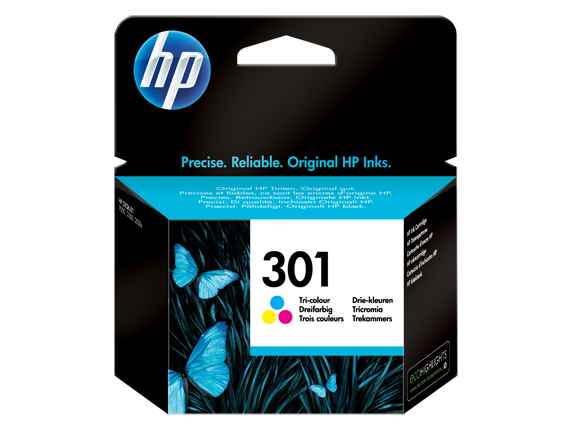 HP 301 COLOUR-PRINTS UPTO 165 PAGES