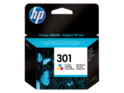 HP 301 COLOUR-PRINTS UPTO 165 PAGES