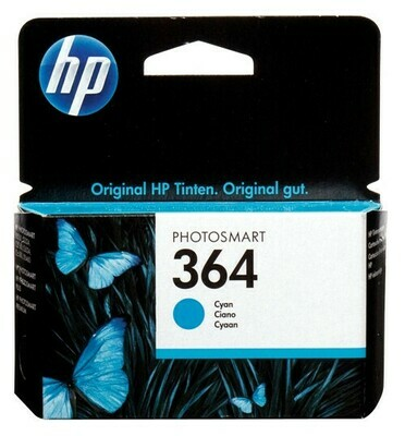 HP 364 CYAN-PRINTS UPTO 300 PAGES