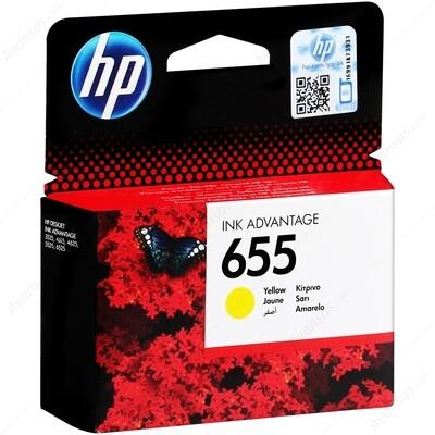 HP 655 YELLOW