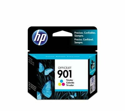 HP 901 TRI-COLOUR-PRINTS UPTO 360 PAGES