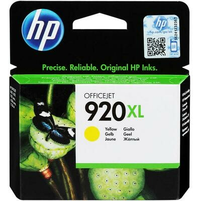 HP 920 YELLOW XL-PRINTS APP.700 PAGES