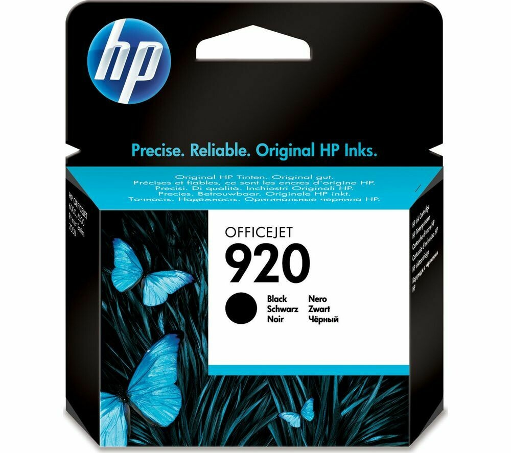 HP 920 BLACK-PRINTS APP. 420 PAGES
