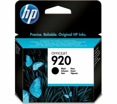HP 920 BLACK-PRINTS APP. 420 PAGES
