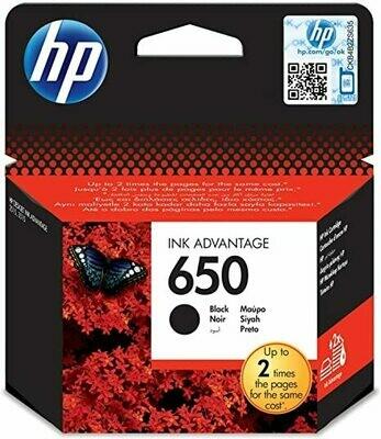 HP 650 BLACK