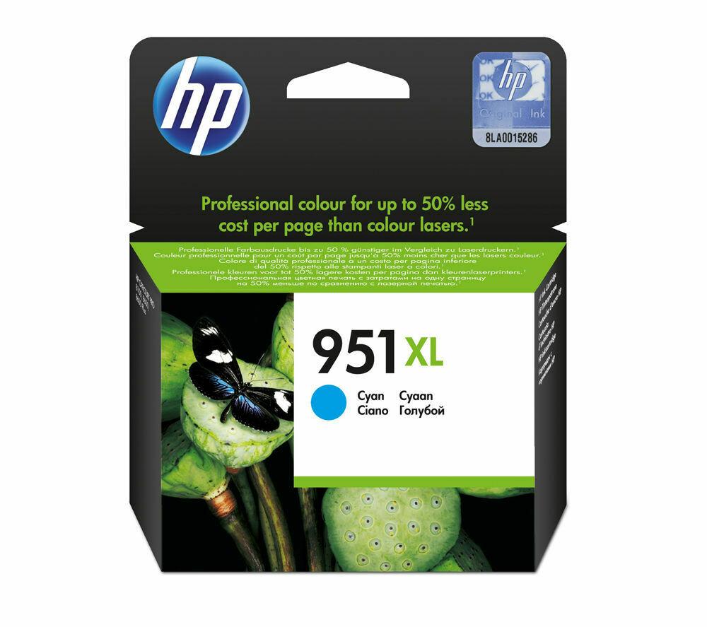 HP 951XL CYAN-PRINTS APP.1500 PAGES