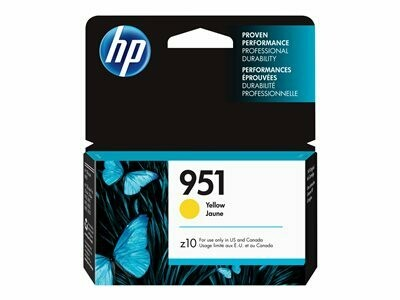 HP 951 YELLOW-PRINTS APP.700 PAGES