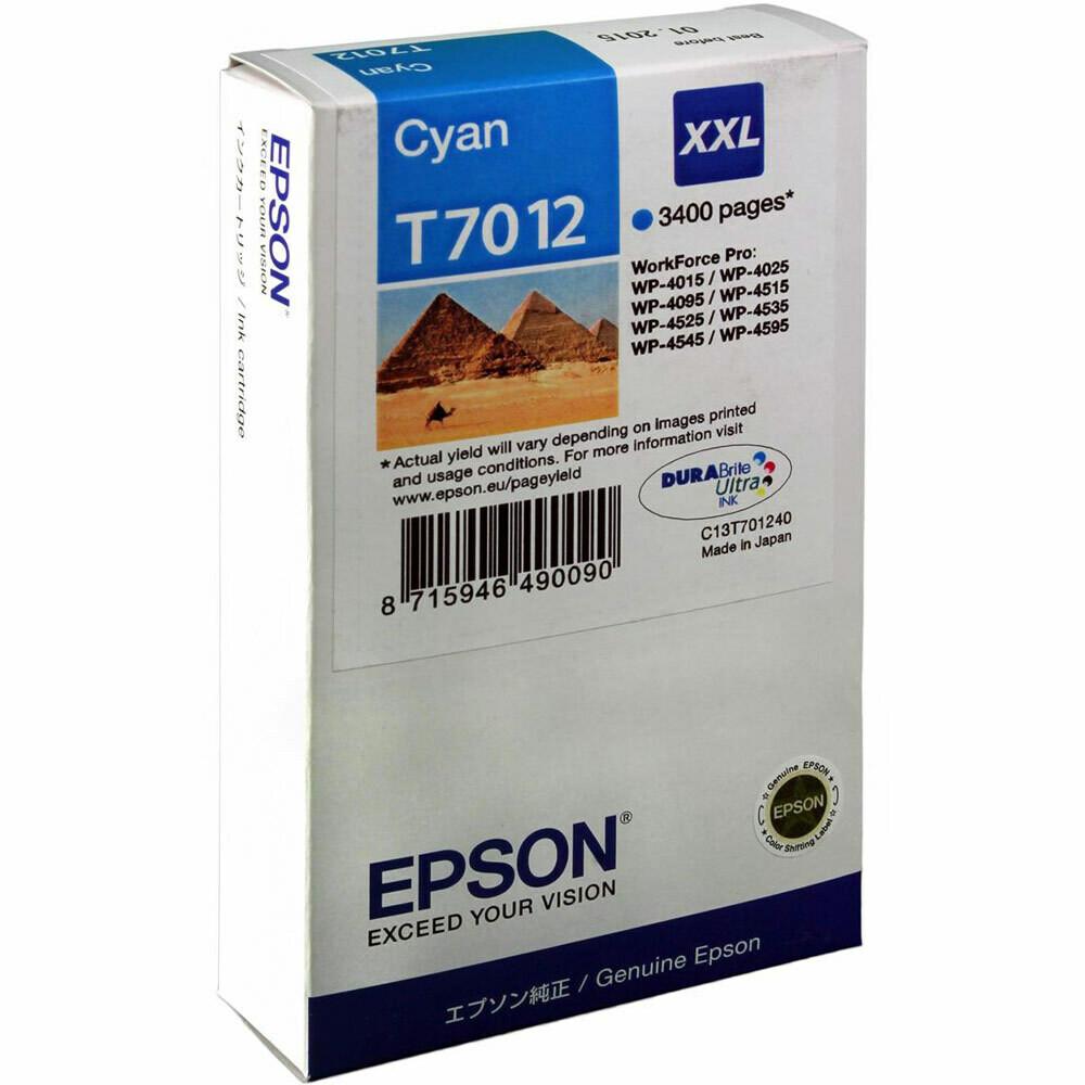 EPSON CARTRIDGE T7012 CYAN