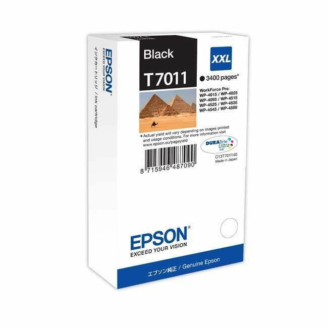 EPSON CARTRIDGE T7011 BLACK