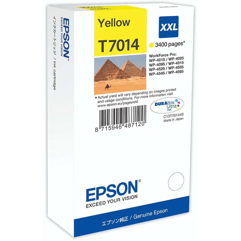 EPSON CARTRIDGE T7014 YELLOW
