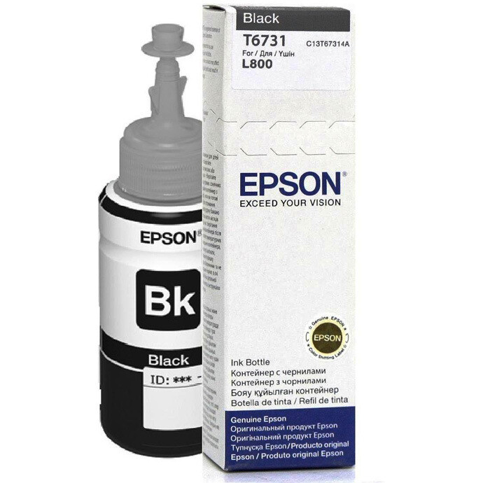 EPSON T6731 BLACK-FOR USE IN EPSON L800