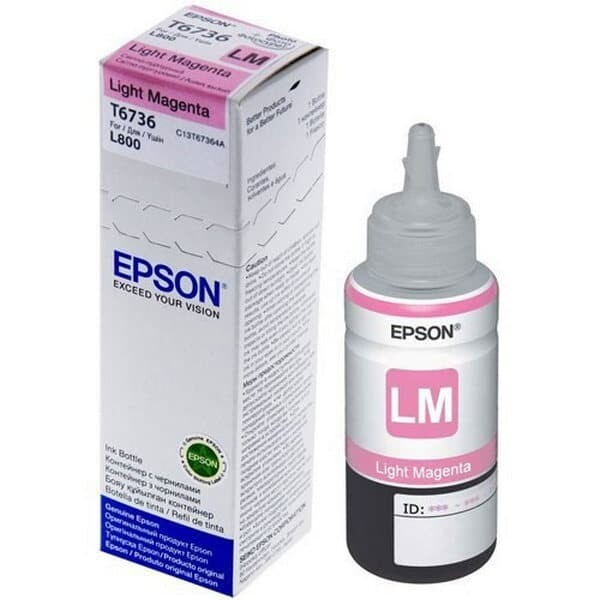 EPSON T6736 Light MAGENTA-FOR USE IN EPSON L800