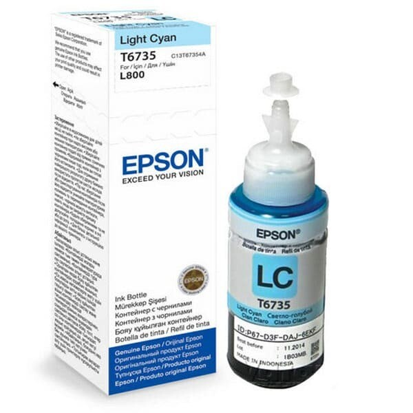 EPSON T6735 Light CYAN-FOR USE IN EPSON L800