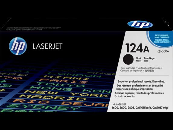 HP Q6000A BLACK-HP 124A