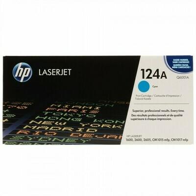HP Q6001A CYAN-HP 124A