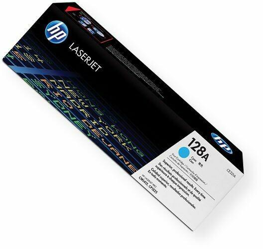 HP CE321 CYAN