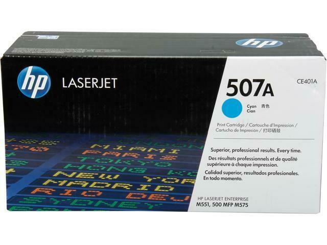 HP CE401A Cyan-HP 507A