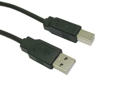 WIRETEK-PRINTER USB CABLE 2.0 1.8M