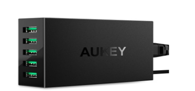 AUKEY-5-Port  USB Charging Station
