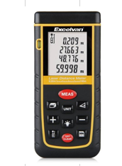 EXCELVAN LASER DISTANCE METER (100M) WITH POUCH