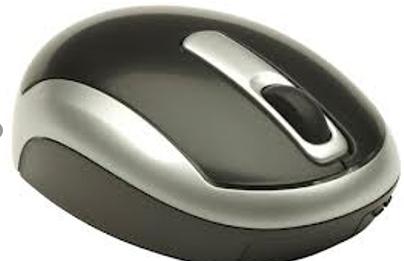 Toshiba mini retractable mouse