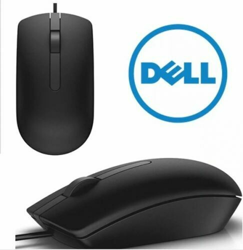 Dell Genuine USB  Mouse(MS116-BK)