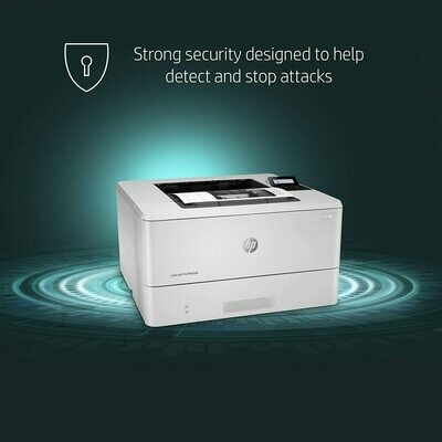 HP LaserJet Pro M404dn Monochrome Laser Printer with Built-In Ethernet & Double-Sided Printing - Built-in Ethernet