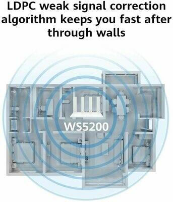 HUWAWEI WIFI WS5200 GIGABIT ROUTER