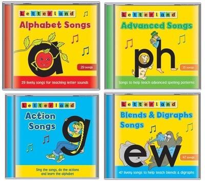 Letterland Songs (CDs)- Piosenki Letterland