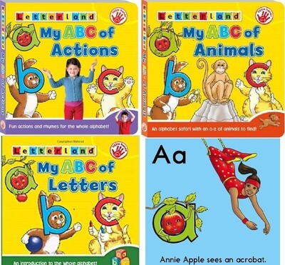 My ABC of ...:Actions/ Animals/Letters