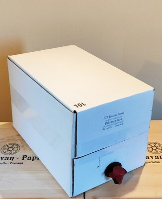 BAG IN BOX - IGT TOSCANA ROSSO 10 LT.
