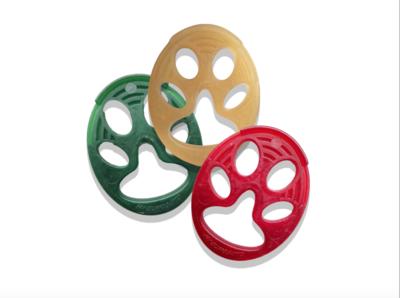 MY ZAMPOTTO - Giochi vegetali masticabili biodegradabili per cani e gatti a forma di zampotta