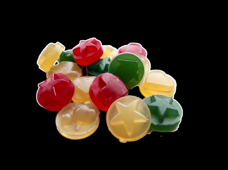 MY BAU BON - Giochi vegetali masticabili biodegradabili per cani e gatti a forma di caramelline