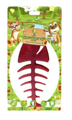 MY PESCIOLONE - Giochi vegetali masticabili biodegradabili per cani e gatti a forma di pesce grande