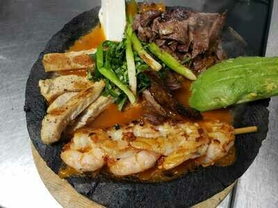MOLCAJETE TRIO FOR TWO