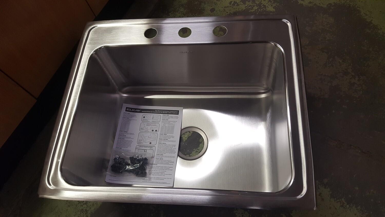 Elkay Stainless Sinks, top mount, new