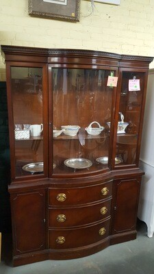 Antique Mahogany Hutch by Drexel