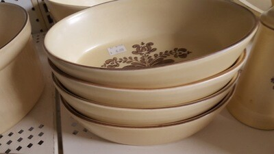 Oval Serving Bowls, 8