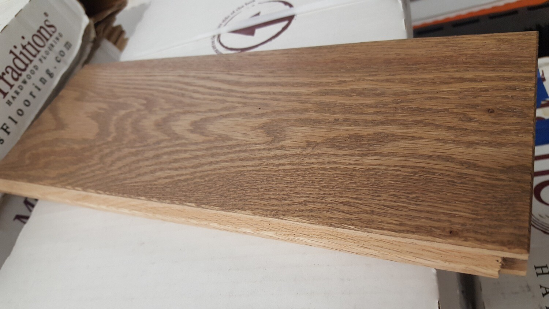 Red Oak Flooring, Livesawn Barrel 120 sq ft