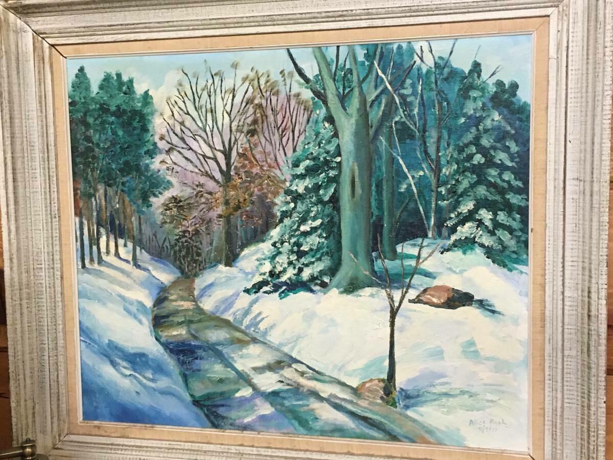 Framed Art - Path through the woods