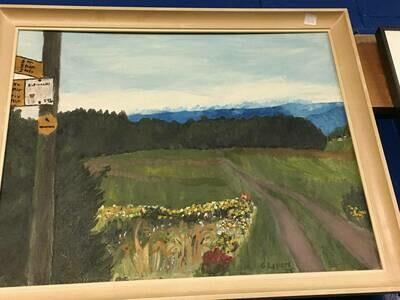 Framed Art - Crossroads, G. Lepore