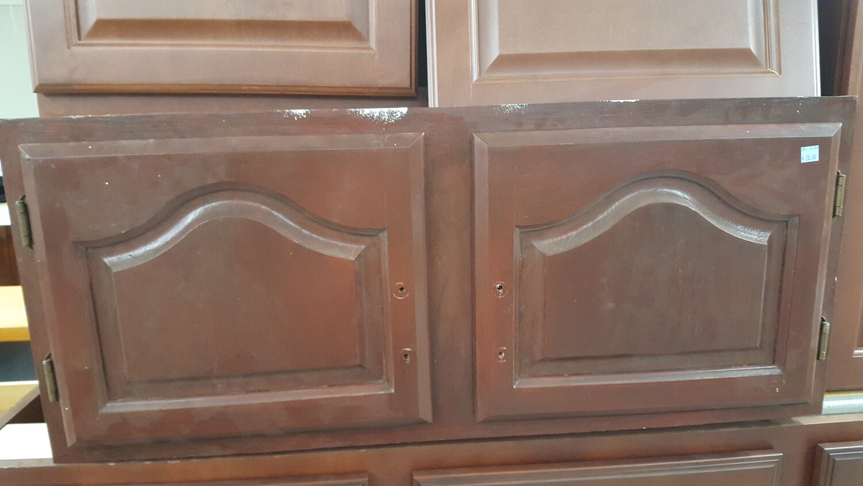 "Kitchen Cabinet, above fridge 36"""