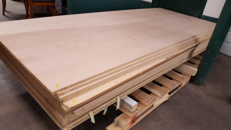 "MDF Sheets with wood veneer - 3/4"""