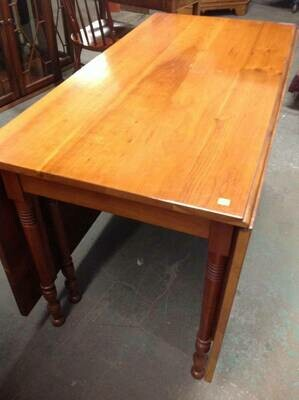 Cherry Drop-Leaf Table,